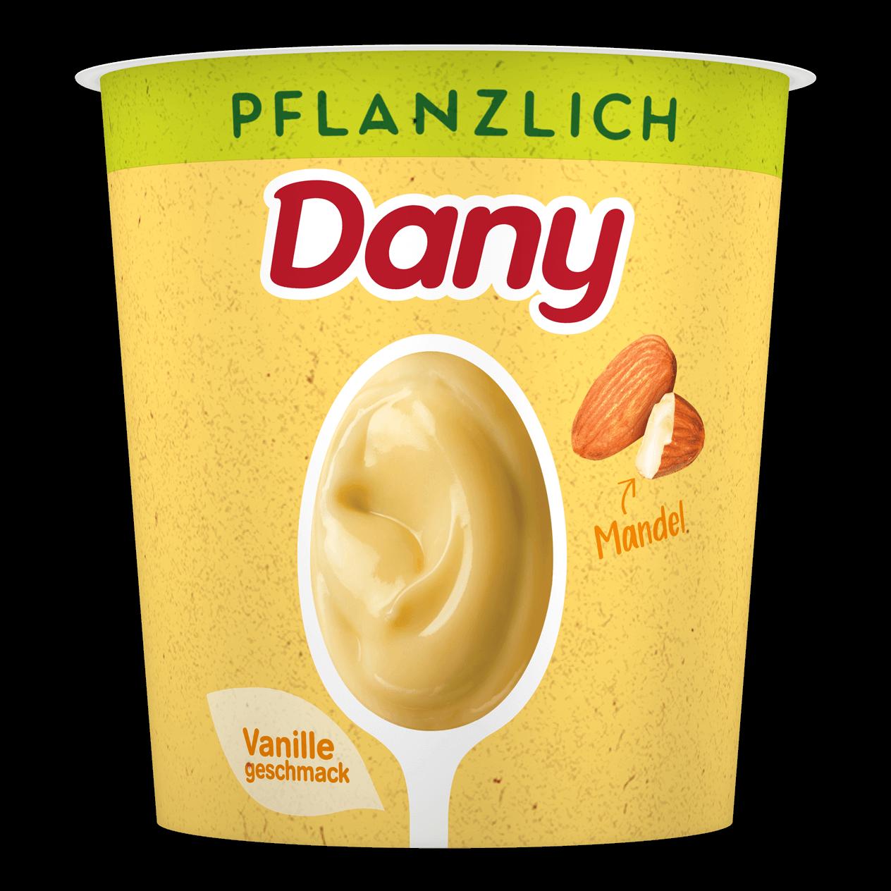 Dany Pflanzlich Vanillegeschmack Mandel