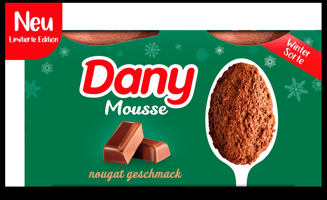 Dany Nougat-Geschmack Mousse